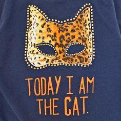 Tee-shirt Cat navy