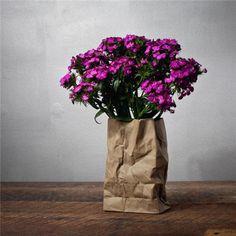 Paper Bag Sculpture Vase Aesthetic Correlation