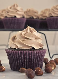 Cupcakes de Nutella | Cupcakeando