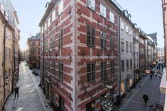 Utsikt från på plan två i Europa 8, Köpmangatan 4.