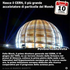 10 giugno 1955: viene posta la prima pietra del CERN  Immaginate di voler studiare linfinitamente piccolo. I greci pensavano che oltre latomo non vi fosse altro. Anzi: lo stesso atomo era la particella ultima al di sotto della quale non fosse più possibile scomporre il mondo. Per oltre duemila anni fu così poi nella seconda dellOttocento si capì che cera dellaltro. Fino al 1914 quando un nuovo modello di atomo si affermò stabilendo che un nucleo era circondato da elettroni. Il mondo…