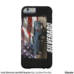 2015 Silverado 3500HD Regular Cab LT Barely There iPhone 6 Case