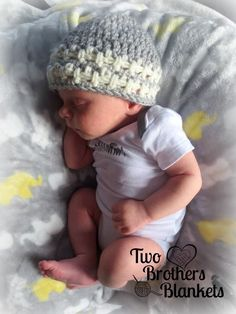 Little Textures Beanie -- Free Preemie Crochet Pattern