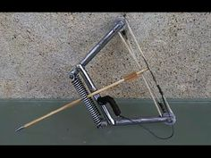 How To Make a Micro Compound Bow | Spring Powered - YouTube