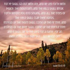 Isaiah 55:12-13