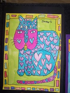 1st grade art (CAK) Donna Barton-art teacher