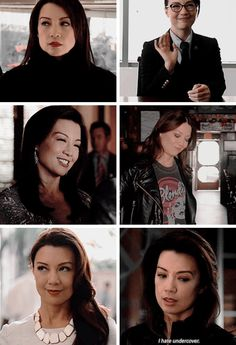 I saw someone dissing Ming-Na Wen for being a really bad May undercover bc she smiled too much and I laughed so hard