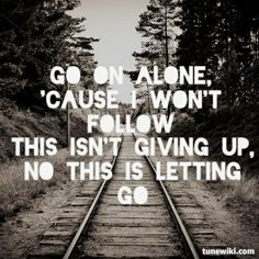Lyrics from this is letting go, rise against