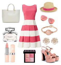 Summer Walk by emmahills17 on Polyvore featuring polyvore, fashion, style, Kate Spade, Yves Saint Laurent, Kenneth Cole, River Island, Prymal, Victoria Beckham, Givenchy, Gucci, ShoeDazzle and clothing