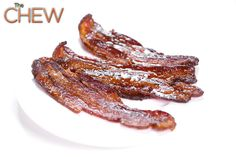 Clinton Kelly's Candied Bacon #thechew