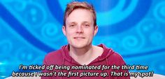 """Loved Johnny Mac on Big Brother. Was pulling for him or Steve Moses to win it all. 10 Reasons Why John Is The Best Houseguest On """"Big Brother Big Brother Reality Show, Big Brother Show, Brother Memes, Big Brother Quotes, Frankie Grande, Let It Out, Tv Show Quotes, Stupid Things, Good Things"""