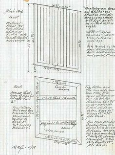 Donald Judd, Sketch & Plan of Sculpture // Judd sculptures are interesting, but his drawings are more intriguing. The careful planning highlights the artist process and remind me of the architecture plans we draw in architecture class.