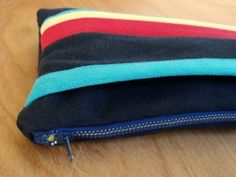 Denim Zipper Clutch Tutorial