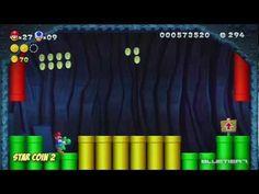 New Super Mario Bros. U - (Co-op) Acorn Plains-3 | Yoshi Hill Star Coins