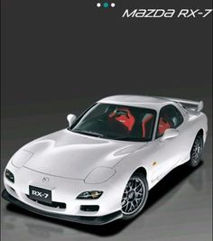 My Dream Car, Dream Cars, Rx7, Rear Wheel Drive, Rally Car, Mazda, Cars And Motorcycles, Inventions, Cool Cars