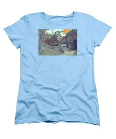 Swiss Alps - Women's T-Shirt (Standard Fit)