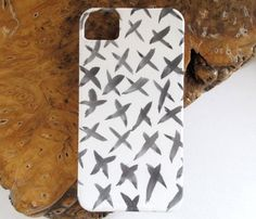 X Watercolor iPhone Case