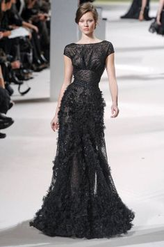 Elie Saab Spring 2011 Couture Runway - Elie Saab Haute Couture Collection - ELLE