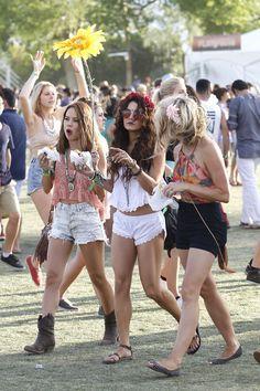 Coachella Festival Music Vanessa Hudgens -Contact your favorite stars free at StarAddresses.com