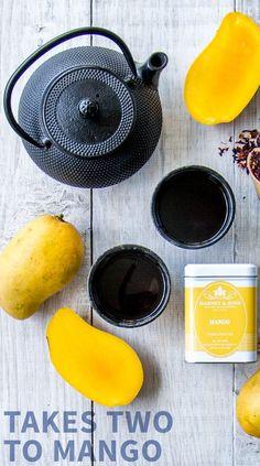 Let's mango. Try our new caffeine-free Fruit #Teas! Pure Green Tea, Best Green Tea, Best Tea, Flavoured Green Tea, Different Types Of Tea, Best Herbal Tea, Sleep Tea, Refreshing Summer Drinks, Free Fruit
