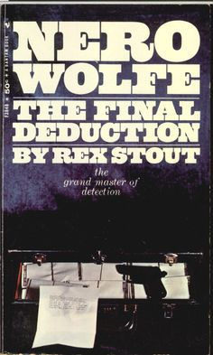 Thirty-Fifth Nero Wolfe book.