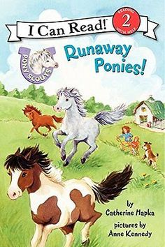 Pony Scouts Runaway Ponies! Catherine Hapka Anne Kennedy HarperCollins Anglai 1
