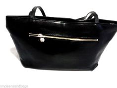 Monsac Leather Shoulder Bag, Purse in Black  #Fashion #Style #Deal