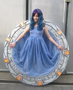 The Stargate girl by Nyima-chan on DeviantArt -- That is some amazing cosplay!!!