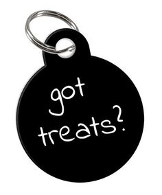 Funny 'Got Treats?' double-sided Custom Pet Tag for Dog or Cat Personalized with Pets Name and Number on the back >>> Check out the image by visiting the link. (This is an affiliate link and I receive a commission for the sales) #PetCats