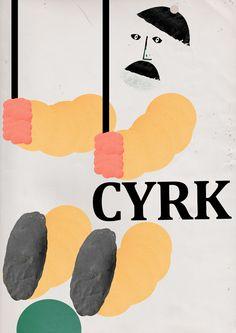 plakat cyrkowy