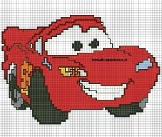 Discover thousands of images about Disney cars x-stitch Cross Stitch For Kids, Cross Stitch Baby, Cross Stitch Charts, Cross Stitch Designs, Cross Stitch Patterns, Loom Patterns, Cross Stitching, Cross Stitch Embroidery, Embroidery Patterns