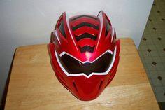 2008 Bandai Power Rangers Jungle Fury Mega Mission Red Tiger Helmet Mask | eBay