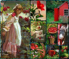 '' My Garden Red '' by Reyhan Seran Dursun
