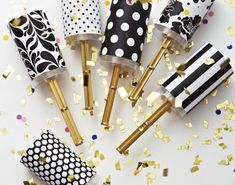 Make Your New Years Pop! 15 DIY Confetti Poppers for NYE