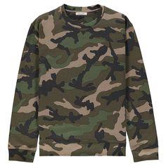 Valentino Camouflage Printed Sweat Top | CRUISE