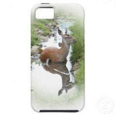 Dear in water iPhone 5 case