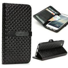 Apple IPhone 6 / 6s Handyhülle von original Urcover® in der Vintage Wallet Edition Edel IPhone 6 / 6s Schutzhülle Case Cover Etui Schwarz Black 9,90€