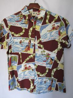 Hawaiian Christmas Shirt