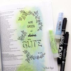 my colorful bible: Psalm 31 * Gelatos / Bible Art Journaling