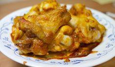 oscette di pollo al curry