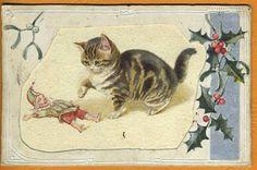 Dorothy Travers POPE - Original Artwork - Cat & Punch Puppet
