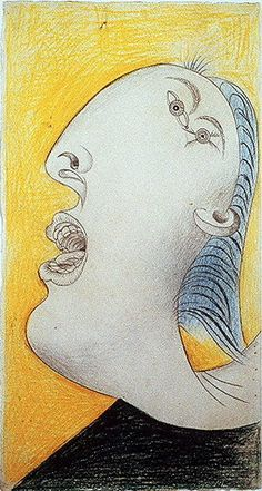 Pablo Picasso. Guernica [étude] I. 1937 year