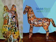 "#TakatakAttack // 2012  #exhibit entry ""All Saints""  www.behance.net/urbanfaerie"