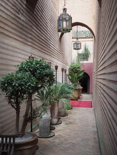 Entrance to Riad Enija in Marrakech #marrakech #morocco