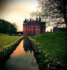 Ancient Castle.Denmark http://www.travelbrochures.org/236/europa/travel-denmark