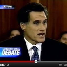 Want to hear what Romney said about a woman's right to choose when he was running for Governor of Mass.?  Now compare that to what he is saying now as he runs for President!  Watch this!