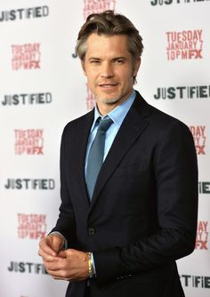Timothy Olyphant attends the Justified Season 5 Screening and after party. Read more here.