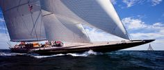 j-class sailing boat