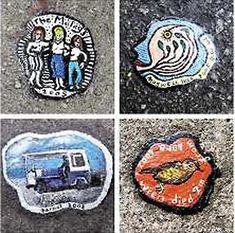 Art on Chewing Gum: Ben Wilson   Raw Vision Magazine