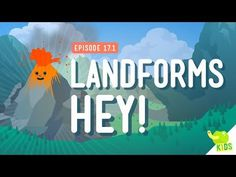 ▶ Landforms, Hey!: Crash Course Kids #17.1 - YouTube